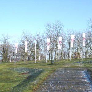 vlaggenmasten