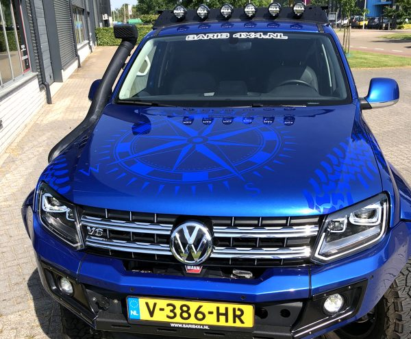 Beletteren Bedrijfsauto - Blue Lizard 2
