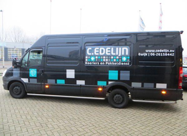 Beletteren Bedrijfsauto - Edelijn