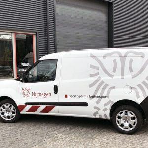 Beletteren Bedrijfsauto - Gemeente Nijmegen