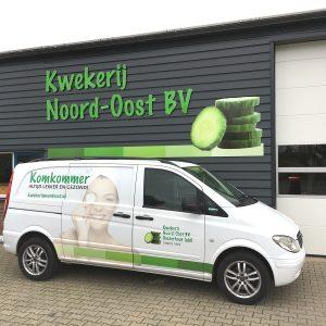 Beletteren Bedrijfsauto - Kwekerij Noord-Oost