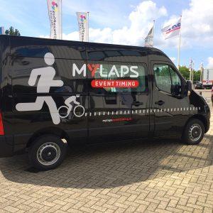 Beletteren Bedrijfsauto - MyLapse