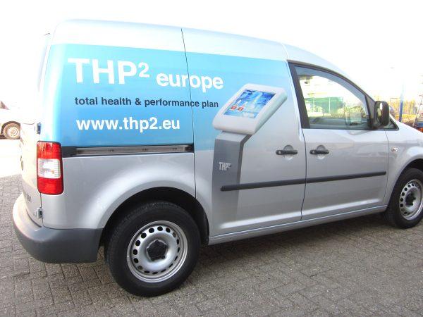 Beletteren Bedrijfsauto - THP2