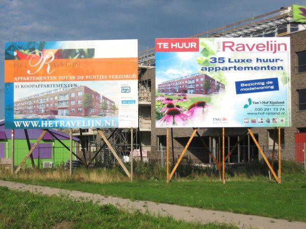 Bouwbord Ravelijn